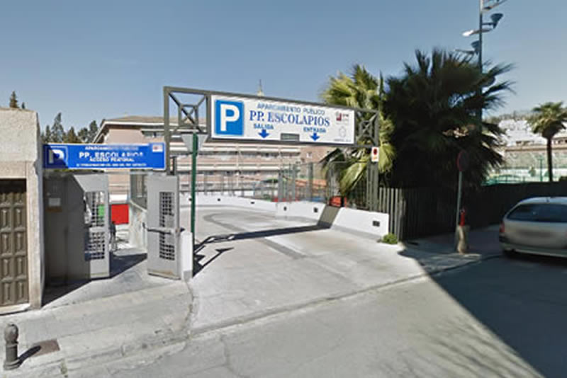 Parking gratuito escolapios